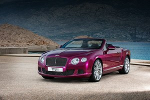 Bentley Continental GTC Speed: первая информация и фото