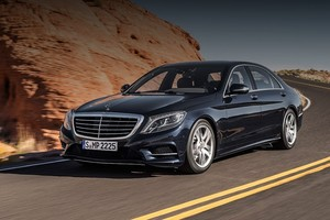 Гибрид Mercedes-Benz S 500 Plug-in Hybrid в лучших традициях марки