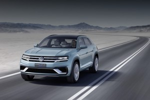 Volkswagen представил Cross Coupe GTE